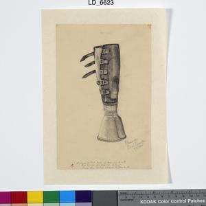 Artificial Limb - 'Elephant Foot' Type, Chungkai, May 1944