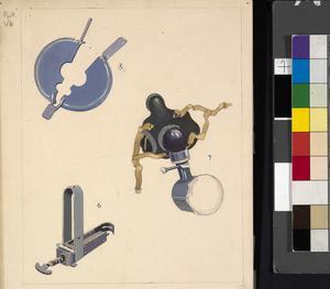 Medical Instruments (Nos 5,6,7) (AMS Campaigns Vol II - Plate Vb)