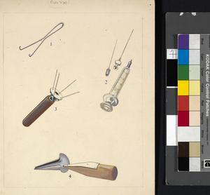 Medical Instruments (Nos 1,2,3,4) (AMS Campaigns Vol II - Plate Va)