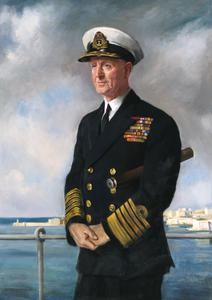 Admiral of the Fleet The Viscount Cunningham of Hyndhope, KT, GCB, DSO