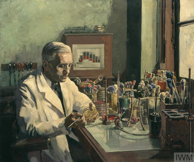 Sir Alexander Fleming Frs The Discoverer Of Penicillin