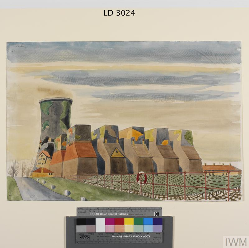 Camouflaged Cooling-towers