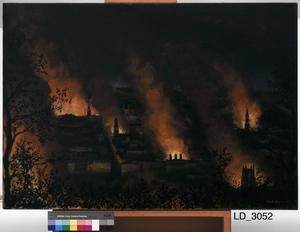 Fire Blitz on Bath, 1942
