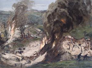 Flash-back; A Recollection of an Air Raid on an Ammunition Dump, 1944