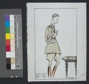 'If I Say It Is Sir Douglas Haig's Table-it Must Be!' : (Caricature Of Major Beckles Willson)