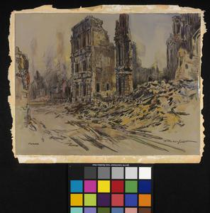 Arras in Flames