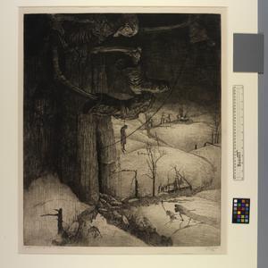 La Mort Sonnant le Glas audessus des Flandres