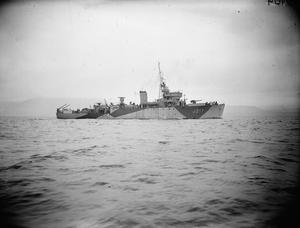 SHIPS OF THE ROYAL NAVY DURING THE SECOND WORLD WAR
