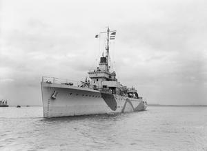 HMS MILFORD