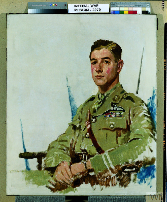 Major J B McCudden, VC, DSO, MC, MM
