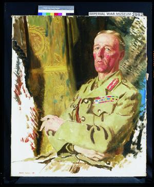 Brigadier-General The Rt Hon J E B Seely, CB, DSO, MP, 1918