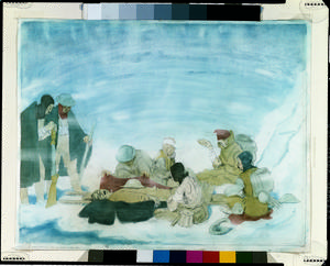 A Death among the Wounded in the Snow