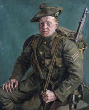 Sergt D F Hunter, VC, 1/5th Highland Light Infantry