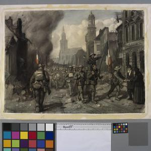 The Entry of the British Troops into Cambrai