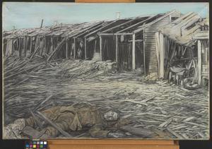 Etaples After the Great Air Raid, 1918