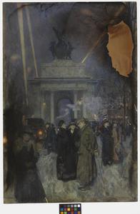 Hyde Park Corner In War-time