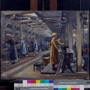 Belgian Steel Factory, Goldhawk Road, W12 - Women at Work