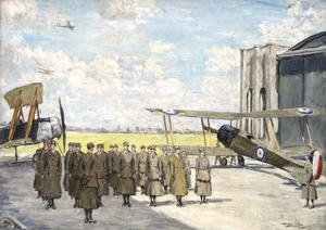WRAF's Drilling At Andover Aerodrome