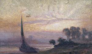Sunset, 1918
