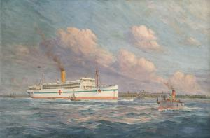 HM Hospital Ship 'Llandovery Castle', Union Castle Line, Sunk by Enemy Submarines on 27th June 1918