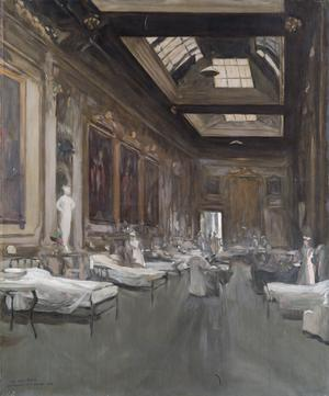 The Ball Room, Londonderry House, 1912. Copy from the original by Sir John Lavery.