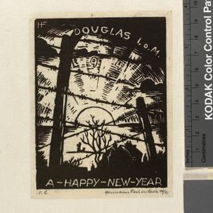 "Douglas, Isle of Man 1941. ""Happy New Year!"""
