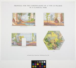 Proposal for the Camouflaging of a Type 22 Pillbox in a Classical Park