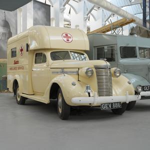 Nash Ambassador Ambulance