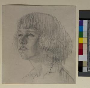 Portrait of Marda Vanne, 1914