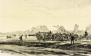 War Drawings By Muirhead Bone: A Gun Hospital