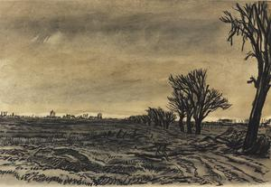 War Drawings By Muirhead Bone: The Untilled Fields
