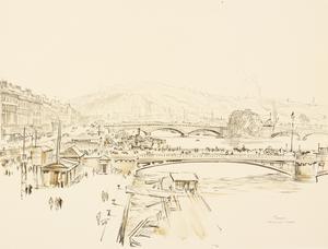 War Drawings By Muirhead Bone: Rouen