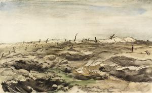 War Drawings By Muirhead Bone: A Via Dolorosa, Mouquet Farm