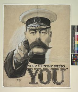 Kitchener: Original Artwork for the 'London Opinion'