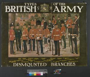 TYPES OF THE BRITISH ARMY