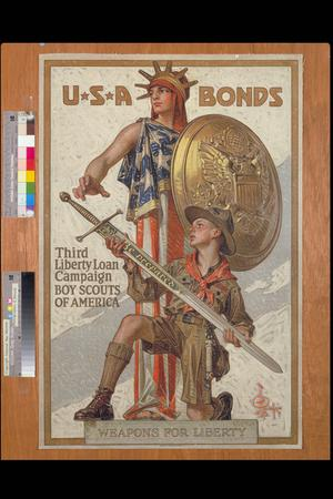 USA Bonds. Third Liberty Loan Campaign. Boy Scouts of America
