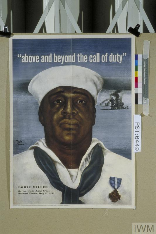 'Above and Beyond the Call of Duty' (Dorie Miller, Navy Cross 1942)