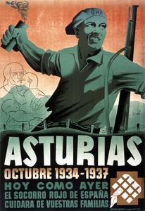 Asturias Octubre 1934 - 1937