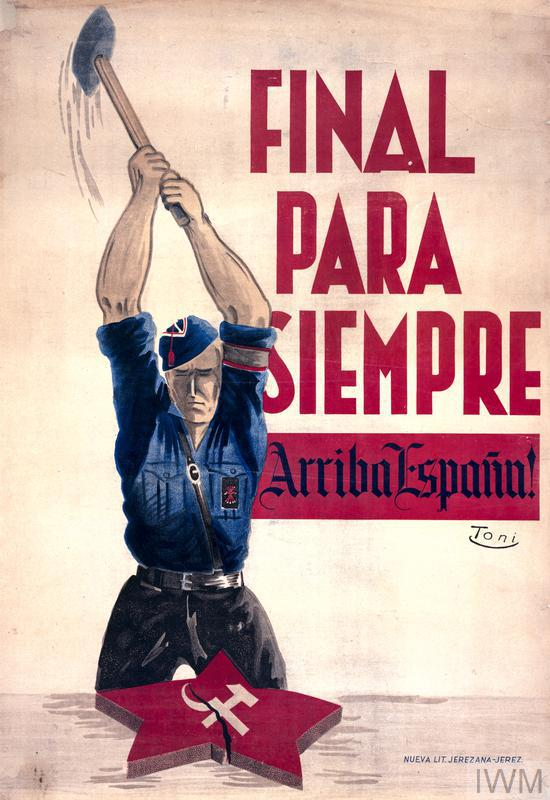 final para siempre  arriba espana  long live spain   art iwm pst 8520