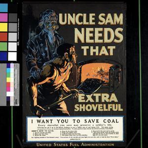 Uncle Sam Needs That Extra Shovelful