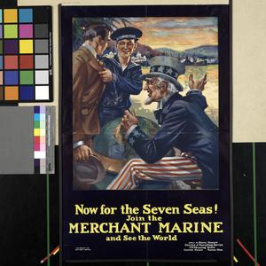 Now for the Seven Seas! Join the Merchant Marine