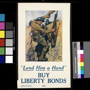Lend Him a Hand - Buy Liberty Bonds