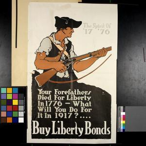 The Spirit of 1776 - Buy Liberty Bonds