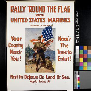 Rally Round the Flag with United States Marines