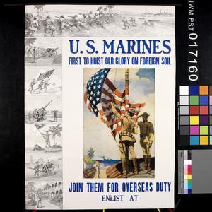 US Marines - First to Hoist Old Glory on Foreign Soil