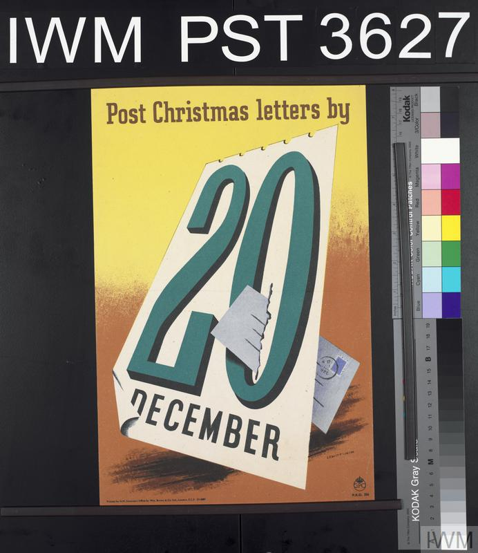 Post Christmas letters by 20th December