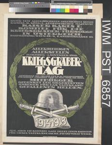 Kriegsgräber-Tag [War Graves Day]