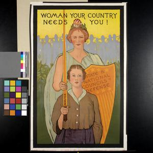 Woman Your Country Needs You