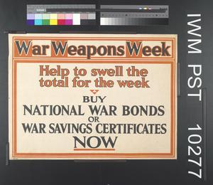 War Weapons Week