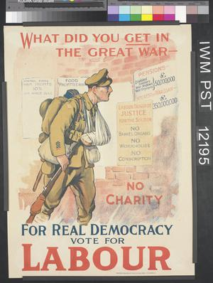 For Real Democracy Vote for Labour